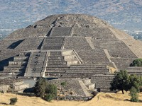 La Pirámide del Sol corre peligro de hundimiento