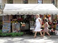 Los floristas de la Rambla no podrán vender 'souvenirs'