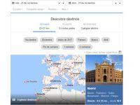 Google Flights te ayuda a encontrar hoteles y vuelos baratos