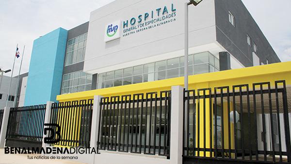 eurofinsa ha construido el Hospital Nuestra señora de la Altagracia