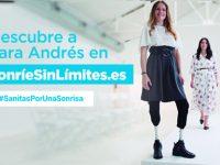 La atleta Sara Andrés, en la campaña #SanitasPorUnaSonrisa