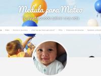 Mateo consigue un donante gracias a #medulaparamateo