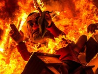 ¿Cuántas fallas se queman en Valencia durante La Cremà?