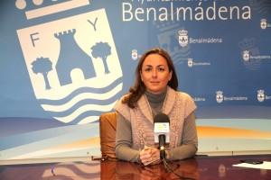 alcaldesa de Benalmádena apoya la detección precoz de cancer de colon