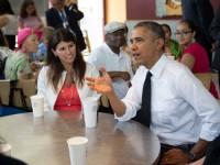 Obama se escapa de la Casa Blanca para comerse un burrito