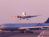 Dos aviones a punto de chocar en Barcelona