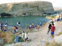 Aparece un lago en mitad de un desierto de Túnez