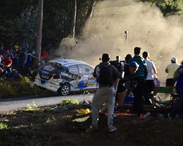 Un accidente en el Rally de A Coruña termina con 7 muertos y más de 10 heridos