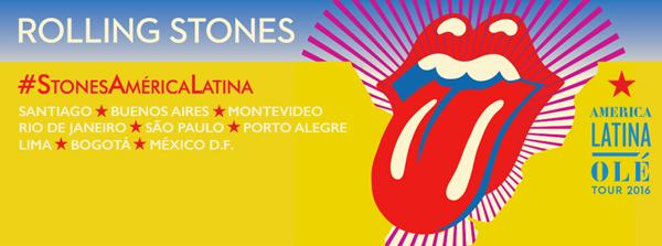 Así será la Gira por Latinoamérica de los Rolling Stones
