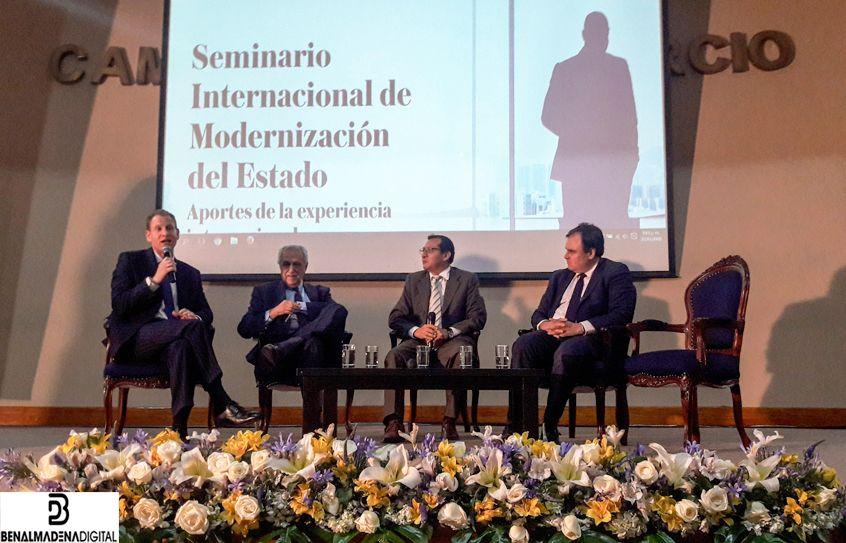 Eurofinsa en un seminario en Perú
