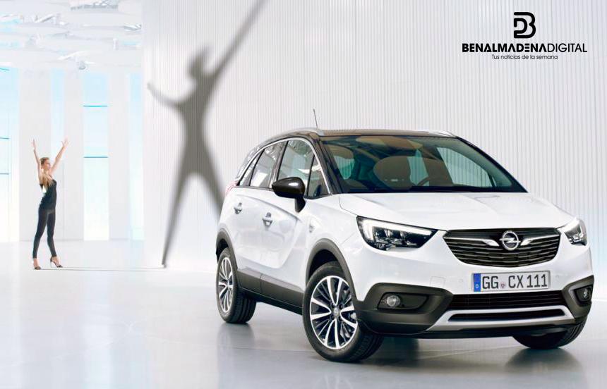 Opel Crossland en el concesionario de Luis Batalla