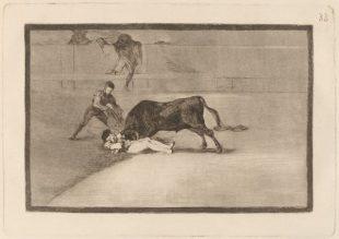 """Hallada en Francia una primera edición de """"La Tauromaquia"""" de Goya"""