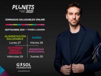Gasol Foundation y las nuevas jornadas online gratuitas PL4NETS sobre hábitos saludables